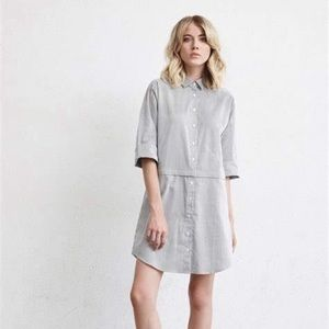 NWT Vetta Convertible Shirt Dress Sz M
